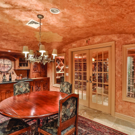 77 Bayberry - wine cellar 2
