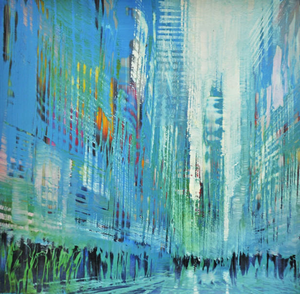 TimesSquare-Full-Speed-oil-on-140-lb-arches13x13