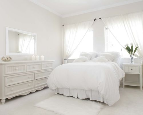 Traditional Bedroom Original Photo On Houzz The Allure Of White Paint